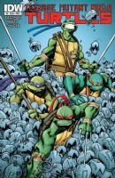 Teenage Mutant Ninja Turtles #8- Cover A